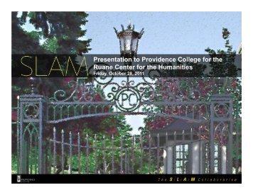 Microsoft PowerPoint - SLAM-Ruane Center for the Humanities ...