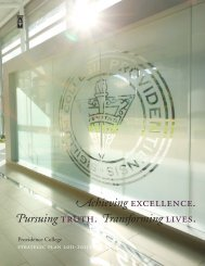 Strategic Plan - Providence College