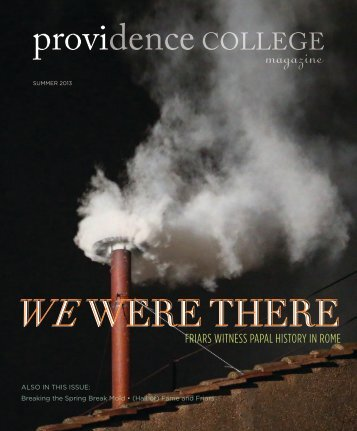 Summer 2013 - Providence College