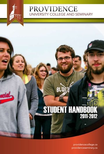 Student Life Handbook - Providence College and Theological ...