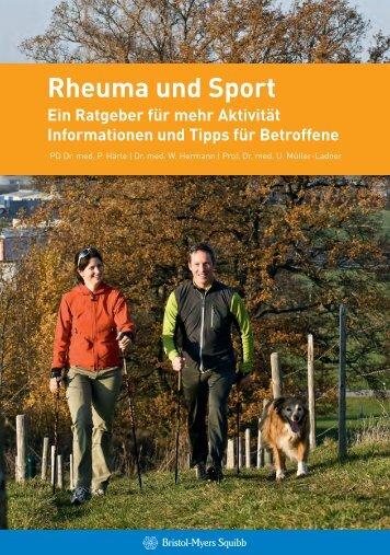 Rheuma und Sport - Aktiv mit Rheuma