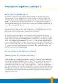 Rheuma und Sport - Aktiv mit Rheuma - Seite 7