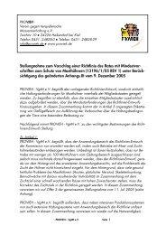 schriften zum Schutz von Masthühnern (13196/1/05 REV 1)