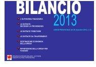 Bilancio 2013 - Rete Civica dell'Alto Adige