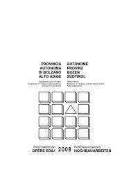 opere edili 2008 - Rete Civica dell'Alto Adige