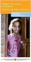 Folder Adoption.indd - Rete Civica dell'Alto Adige