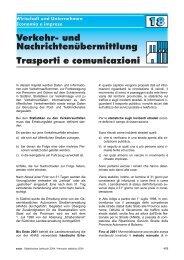 Trasporti e comunicazioni - Rete Civica dell'Alto Adige