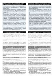 Istruzioni al modello ISTAT/PDC/BZ