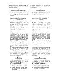 1 Auswahlverfahren für die Ernennung zur Direktorin oder zum ...