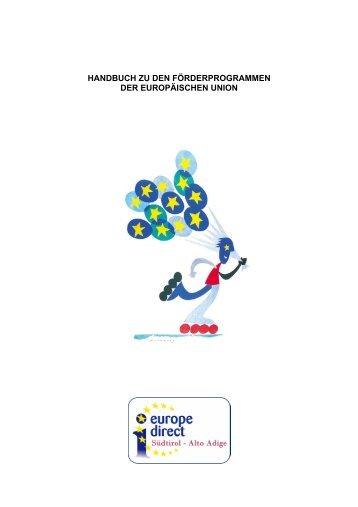 Handbuch zu den Förderprogrammen der EU