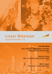 Bibelsaat 114 (pdf ~ 1 7 MB) - Diözese Linz