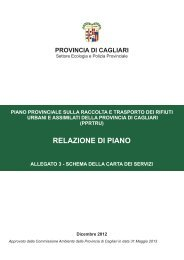 Piano Provinciale sulla Raccolta e Trasporto dei Rifiuti Urbani e ...