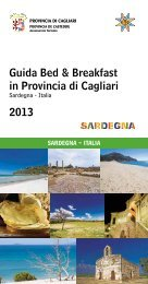 Guida Bed & Breakfast per il 2013 - Provincia di Cagliari