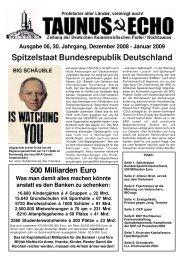Ausgabe 06, 30. Jahrgang, Dezember 2008 - Januar ... - Dkp-Hessen