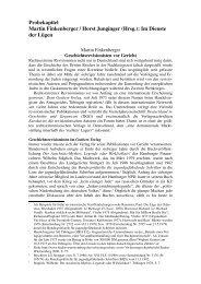 Probekapitel Martin Finkenberger / Horst Junginger (Hrsg.): Im ...