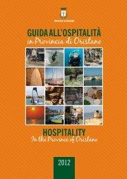 Guida all'ospitalità 2012 - pdf web 12.cdr - Provincia di Oristano