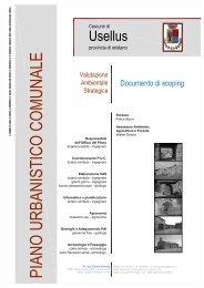 Scarica il Documento di Scoping - Provincia di Oristano