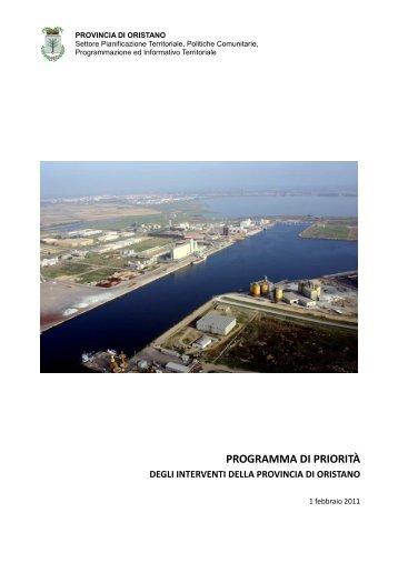 Scarica il documento - Provincia di Oristano