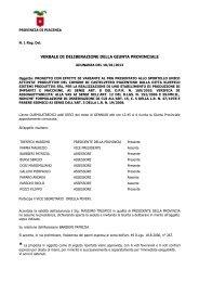 Verifica su progetto presentato al SUAP dalla Kleefeld Sistemi ...