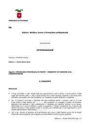 DD 146 DEL 29/01/2013 - Provincia di Piacenza