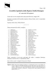 Territorio - Indirizzi per gli studi di microzonazione sismica in Emilia ...