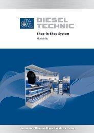 Shop-in-Shop System - Dieseltechnic.com