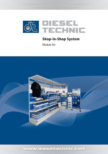Shop-in-Shop System - Dieseltechnic.com