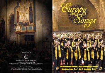 BROCHURE 2011 - Associazione Internazionale Amici della Musica ...
