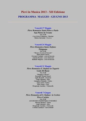 Il programma completo - Provincia di Ravenna