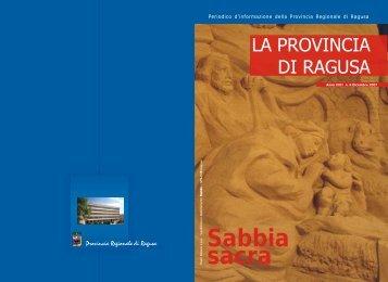 Dicembre 2007 - Provincia Regionale di Ragusa