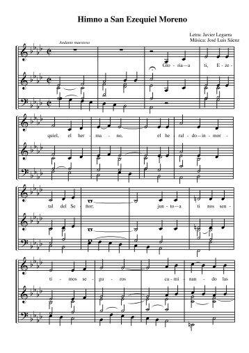 Himno a San Ezequiel Moreno - Provinciasannicolas.org