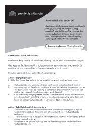 Provinciaal blad 26 van 2009 (PDF, 74 kB) - Provincie Utrecht