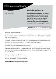 Provinciaal blad 12 van 2011 - Provincie Utrecht