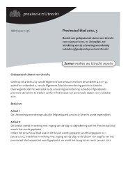 Provinciaal blad 5 van 2012 - Provincie Utrecht