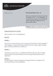 Provinciaal blad 10 van 2010 (PDF, 1 MB) - Provincie Utrecht
