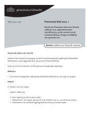 Provinciaal blad 1 van 2012 (PDF, 624 kB) - Provincie Utrecht