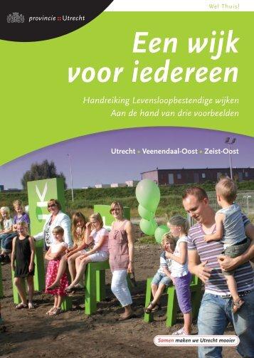 Een wijk voor iedereen handreiking ... - Provincie Utrecht