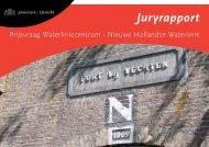 Juryrapport Waterliniecentrum Fort Vechten