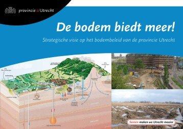 Bodemvisie, maart 2010 - Provincie Utrecht