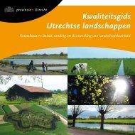 Koepelkatern Kwaliteitsgids - Provincie Utrecht