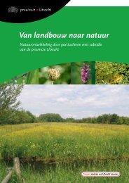 Van landbouw naar natuur - Provincie Utrecht
