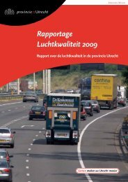 Rapportage Luchtkwaliteit 2009 - Provincie Utrecht