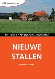 Boekje Stallen - Provincie Utrecht