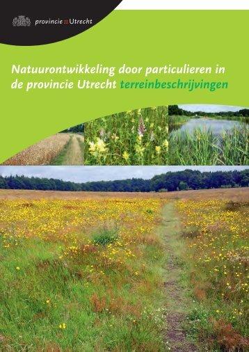 Natuurontwikkeling door particulieren in de provincie Utrecht ...