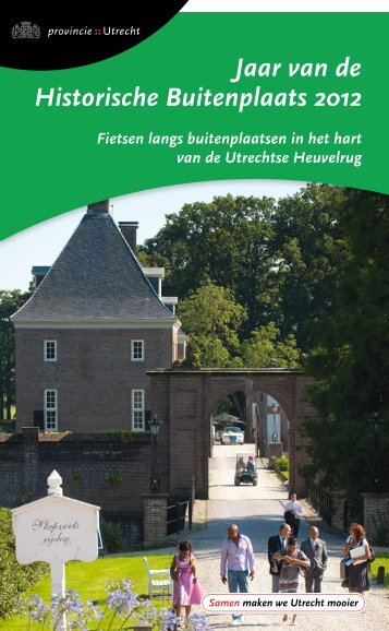 Fietsboekje buitenplaatsen - Provincie Utrecht
