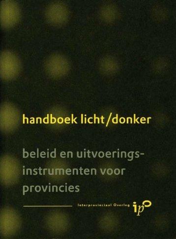 Handboek Licht / donker - Infomil