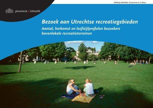 Bezoekers Utrechtse recreatiegebieden - Provincie Utrecht