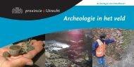 Archeologie waaier (PDF, 10 MB) - Provincie Utrecht