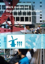 Werkboek Regionale Beeldverhalen - Provincie Utrecht