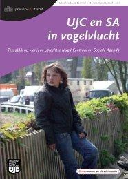 UJC en SA in vogelvlucht - Provincie Utrecht